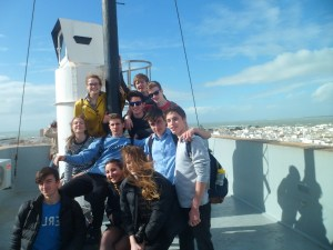 School trip to Cádiz with Spark