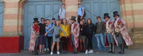 School trip to Spain Norwich school