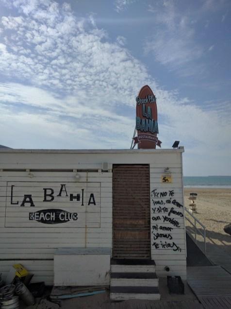 Beach club La Bahia
