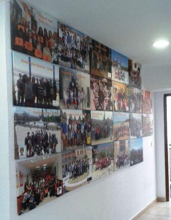 Como parecen en la pared!