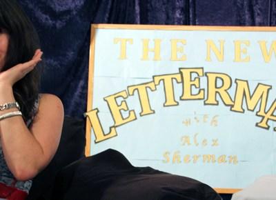 Zooey Deschanel guest stars on The New Letterman