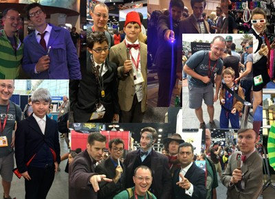 100+ Doctor Whos at Comic-Con
