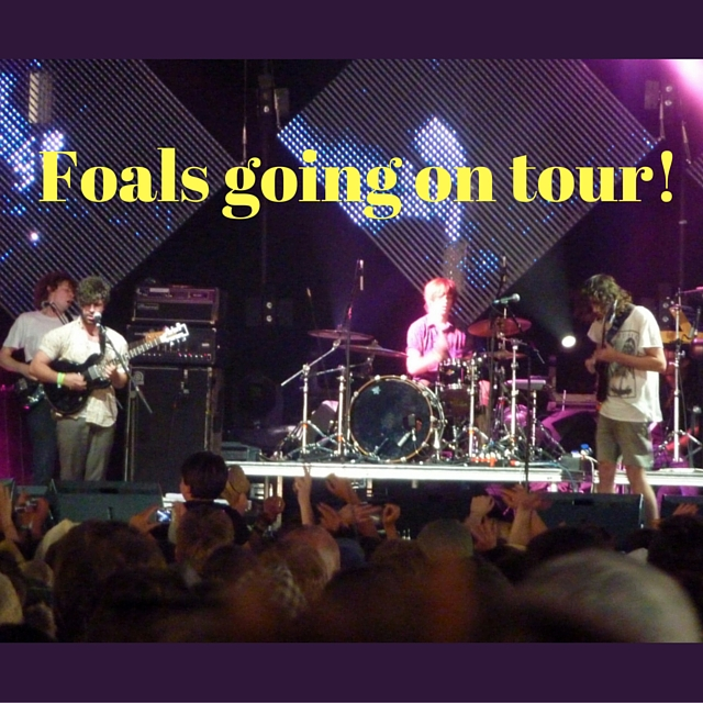 Foals going on tour!