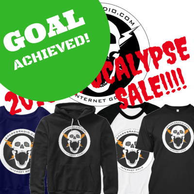 Goal Achieved – 2016 Apocalypse Sale!!!!