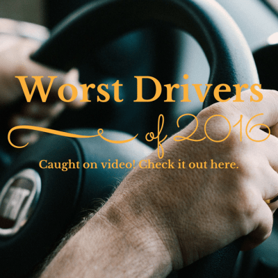 Don't watch this while driving…