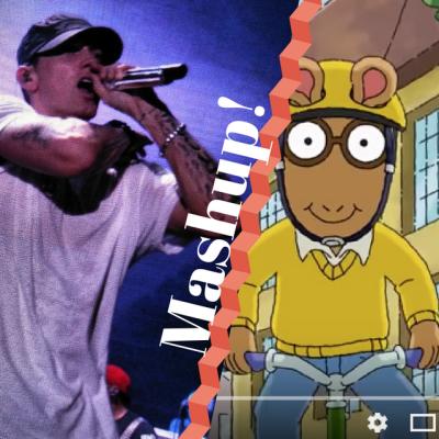 Eminem MashUp With Arthur Cartoon
