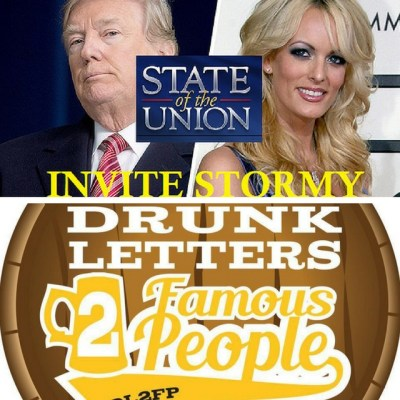 Drunk Letters to Famous People Episode 38: Stormy Daniels