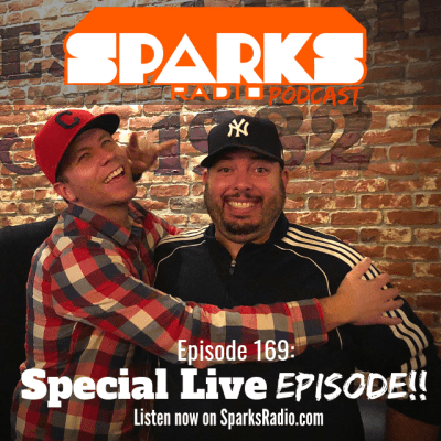 Special Live Episode!!! : Ep 169 Sparks Radio Podcast w/ Graig Salerno