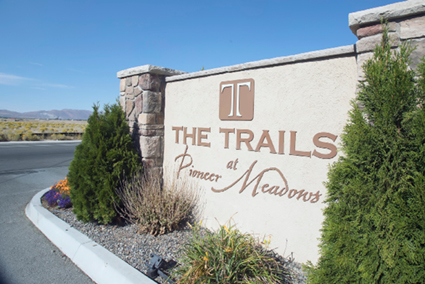 John Byrne/Tribune - The Trails at Pioneer Meadows in Sparks is one of many apartments in the area that have increased its rental rates in the last year. Monthly prices for a two-bedroom apartment at The Trails are currently being offered between $1,175-$1,699, as opposed to three years ago at $900-$1,000.