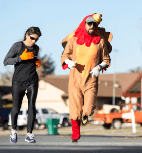 John Byrne/Tribune file photo The Scheels Turkey Trot will take place on Thursday beginning at 8:30 a.m.