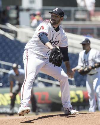 Aces Begin Second Half with Four-Game Sweep