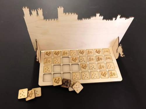 Cyvasse a Game of Thrones Board Game