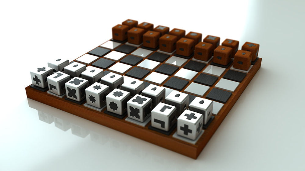 Chess Set for the blind and visually impaired.