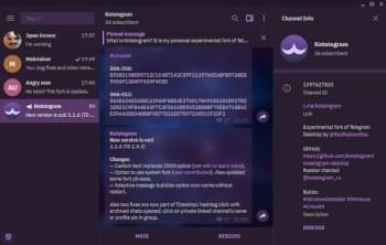 Kotatogram Desktop