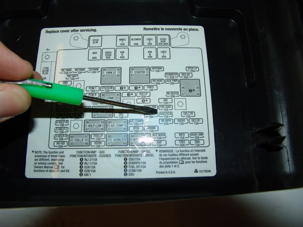 DSC04802?fit=1024%2C768&ssl=1 sparkys answers hvac actuator recalibration procedure for gm 2005 hummer h2 fuse box location at couponss.co