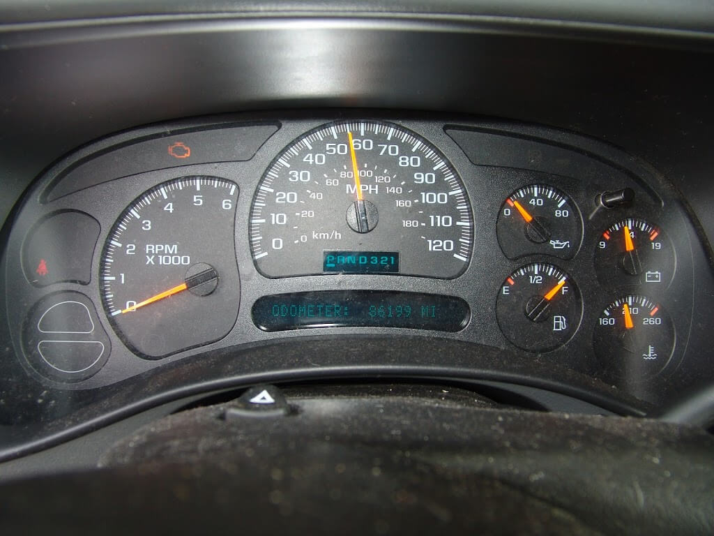 Sparky S Answers 2005 Gmc Sierra Speedometer Sticks