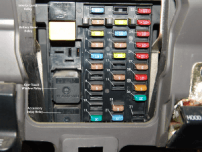 Sparkys Answers 2003 Ford F150 Interior Fuse Box Identification