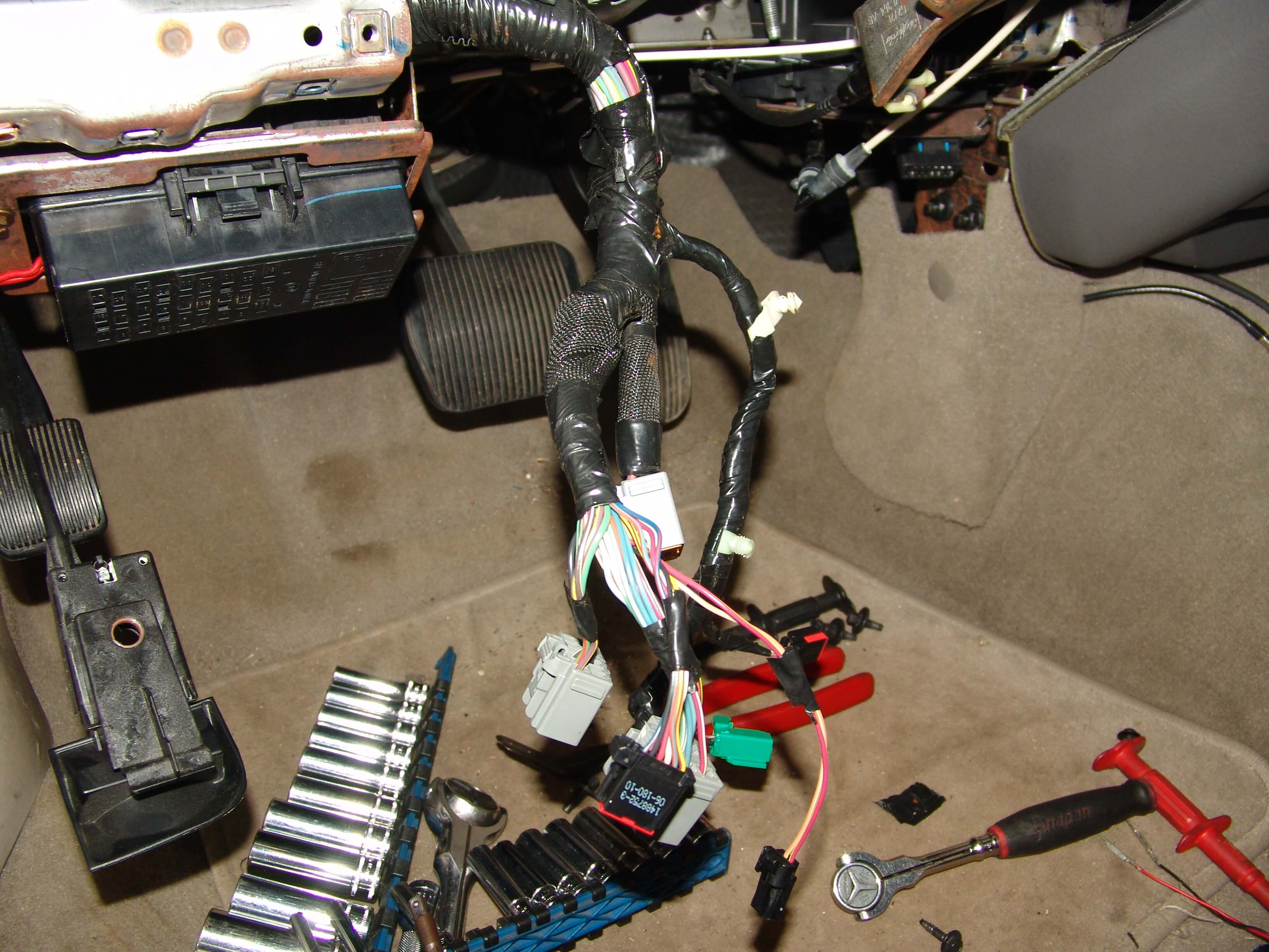 Sparkys Answers 2007 Lincoln Town Car Removing The Steering Column Saturn Diagram A 13 Mm Socket And 3 8 Ratchet Are Needed To Remove Coupling Bolt