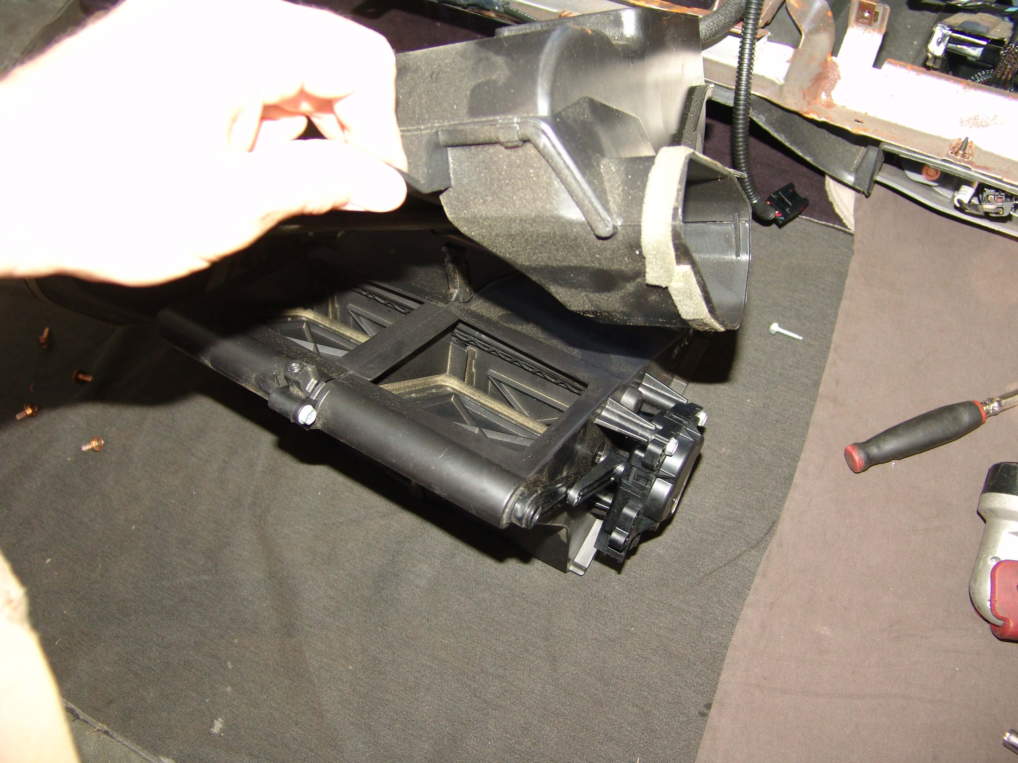 Sparky's Answers - 2007 Lincoln Town Car HVAC Actuator