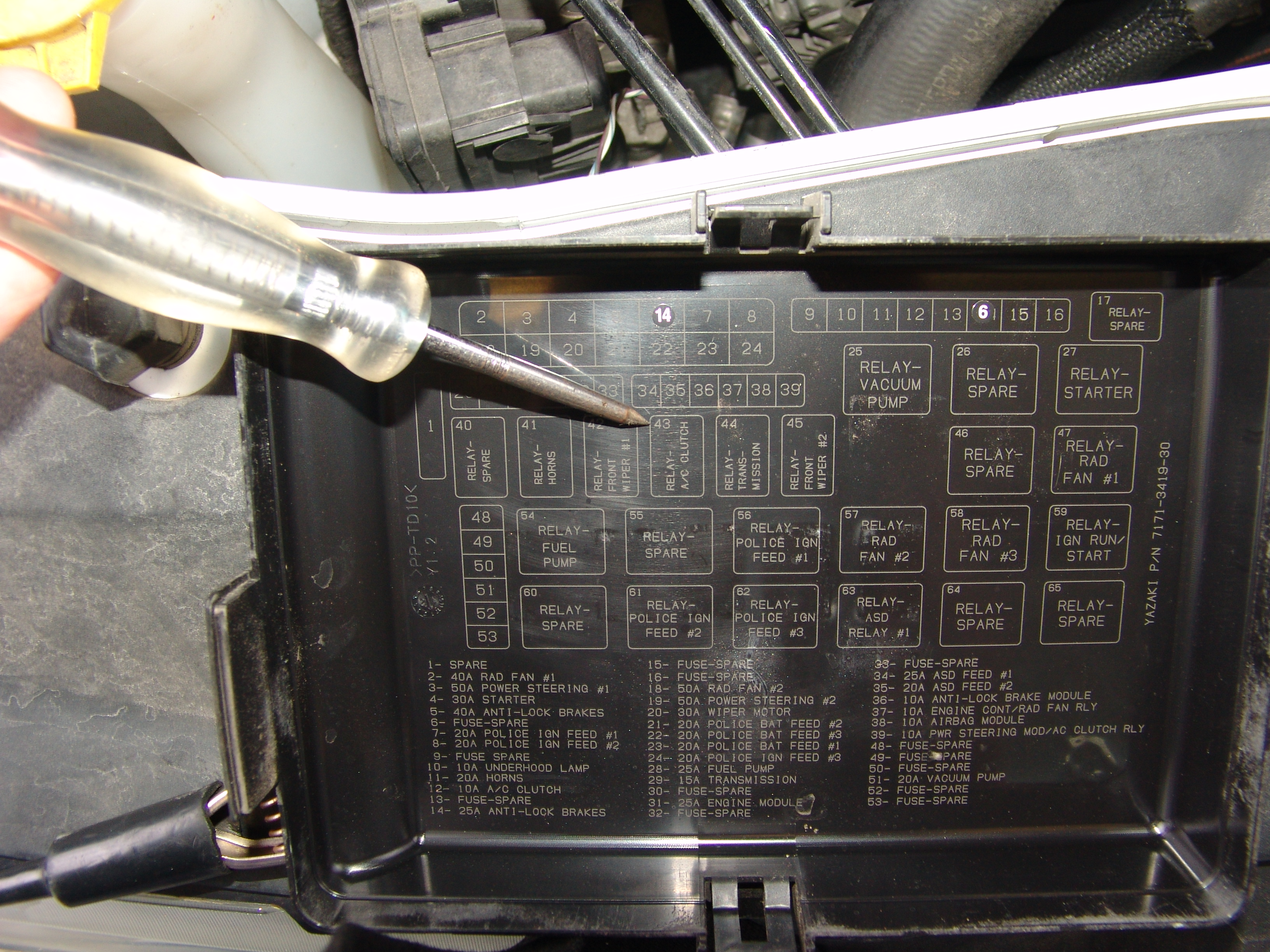 Dodge Fuse Box Ign Bat Electrical Work Wiring Diagram \u2022 Dodge Charger  Heater Core 2013 Dodge Charger Fuse Diagram