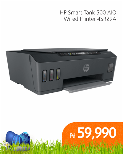 HP Smart Tank 500 AIO Wired Printer