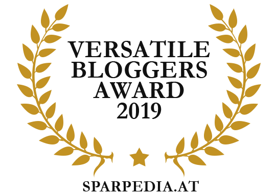 Banners for Versatile Bloggers Award 2019