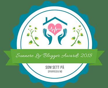 Sunnere  Liv  Blogger  Awards  2018
