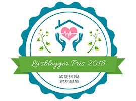 Banners  for    Livsblogger  Pris  2018