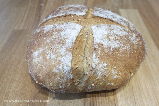 Spelt and Oat Bread