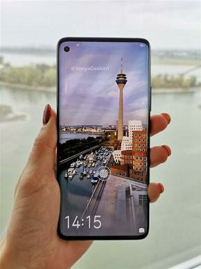 Samsung galaxy s10 hands-on picture