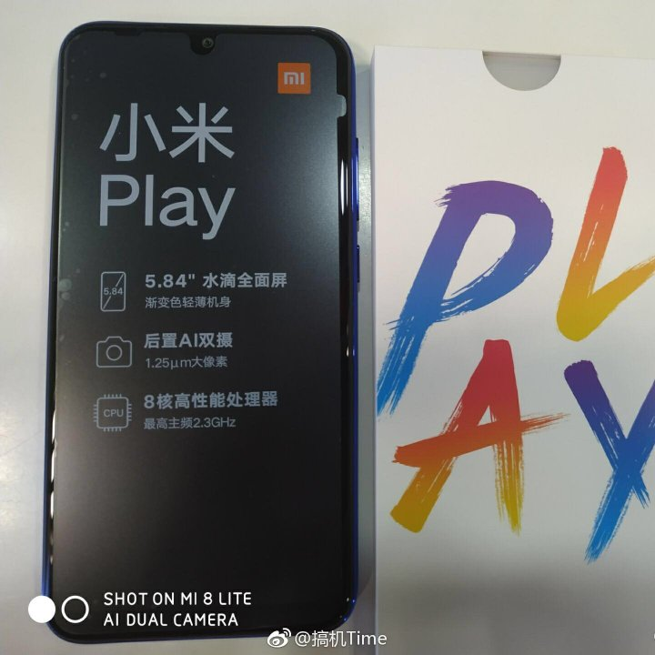 Xiaomi Play Unboxing