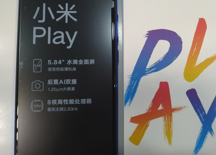Xiaomi Play Price and Unboxing images, Specifications 1