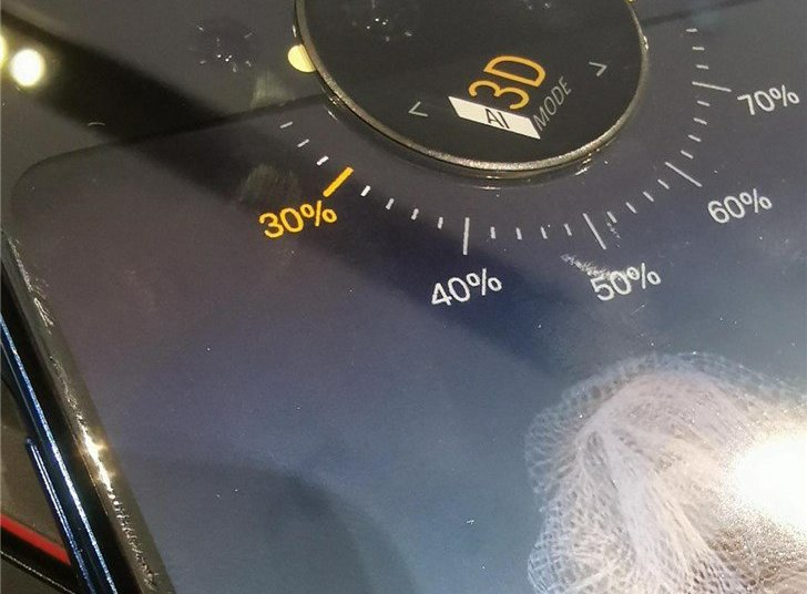 Vivo NEX dual screen version of the back detail exposure 1