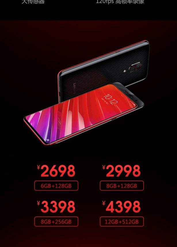 Lenovo Z5 Pro Snapdragon 855 Edition Price