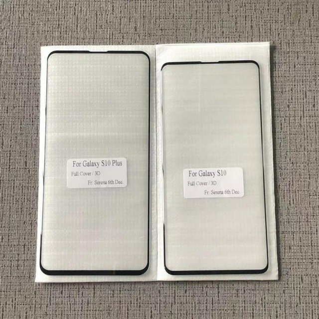 Samsung galaxy s10 and s10 plus Screen Glass Exposure