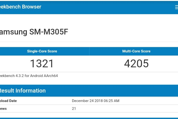Samsung Galaxy M30 Specification