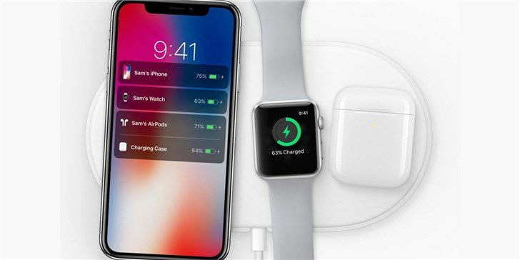 Apple AirPower wireless charger appears in the iPhone XS smart battery shell page 2