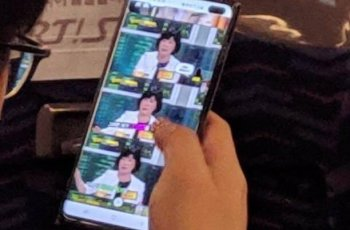 Suspected Samsung Galaxy S10+ mobile phone real machine appeared 1