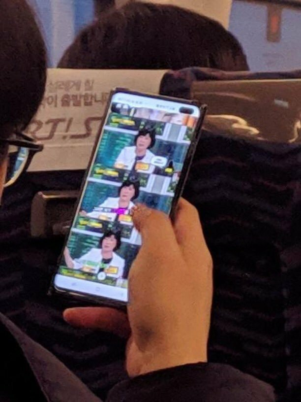 Suspected Samsung Galaxy S10+ mobile phone real machine appeared 2