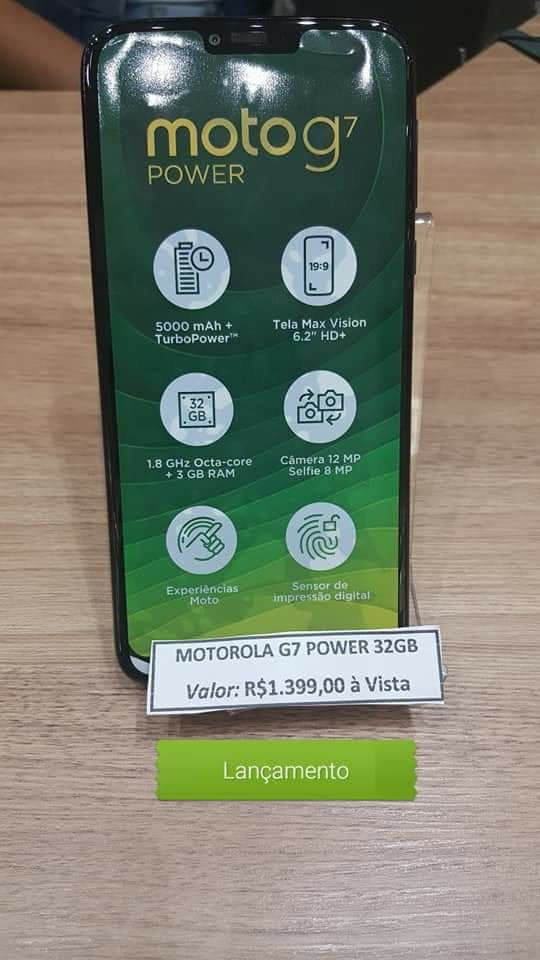 Moto G7 Power Spotted in wild, Price And Specifications  1