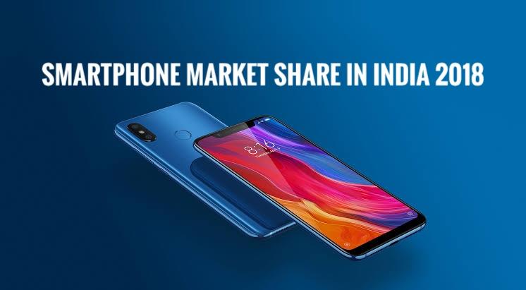 Smartphone Market Share in India - Xiaomi Top, Jio Top in Feature Phone 1