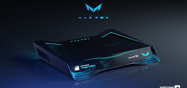 Slightly Mad studio Game console NEW design 1
