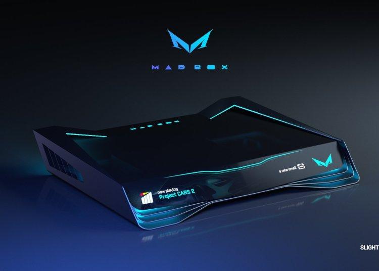 Slightly Mad studio Game console NEW design 1