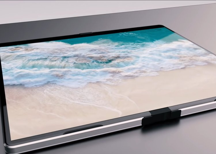 Microsoft Andromeda concept video: foldable large screen + secondary screen 1