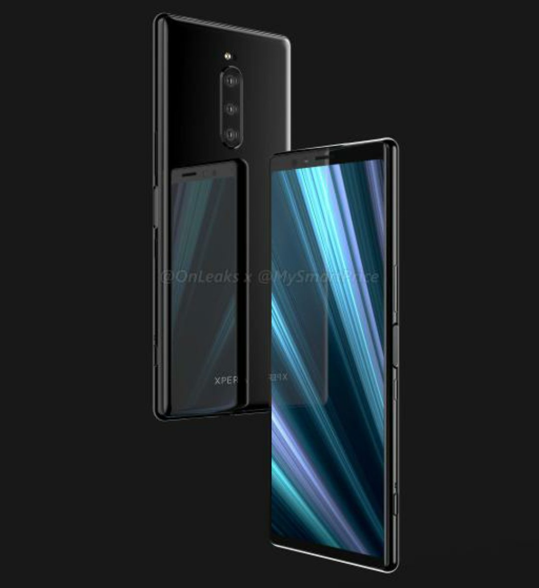 Xperia XZ4 Render by onleaks