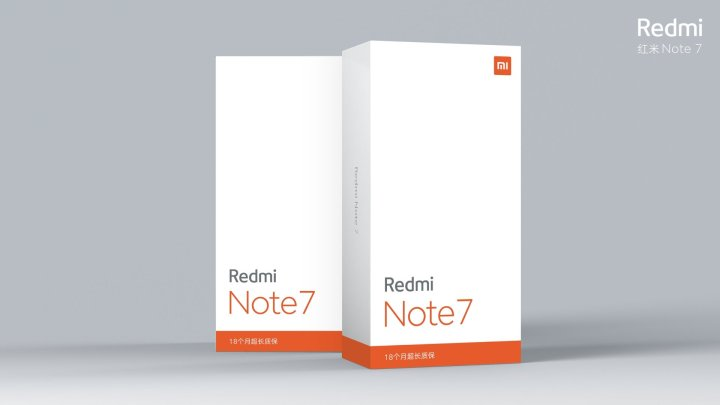Redmi Note 7  Packing