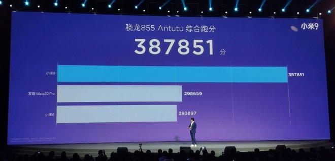 Xiaomi mi 9 Performance