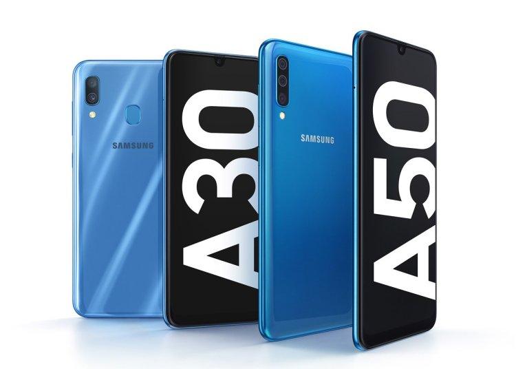 Samsung Galaxy A30 vs Galaxy A50 Specifications Comparison 1
