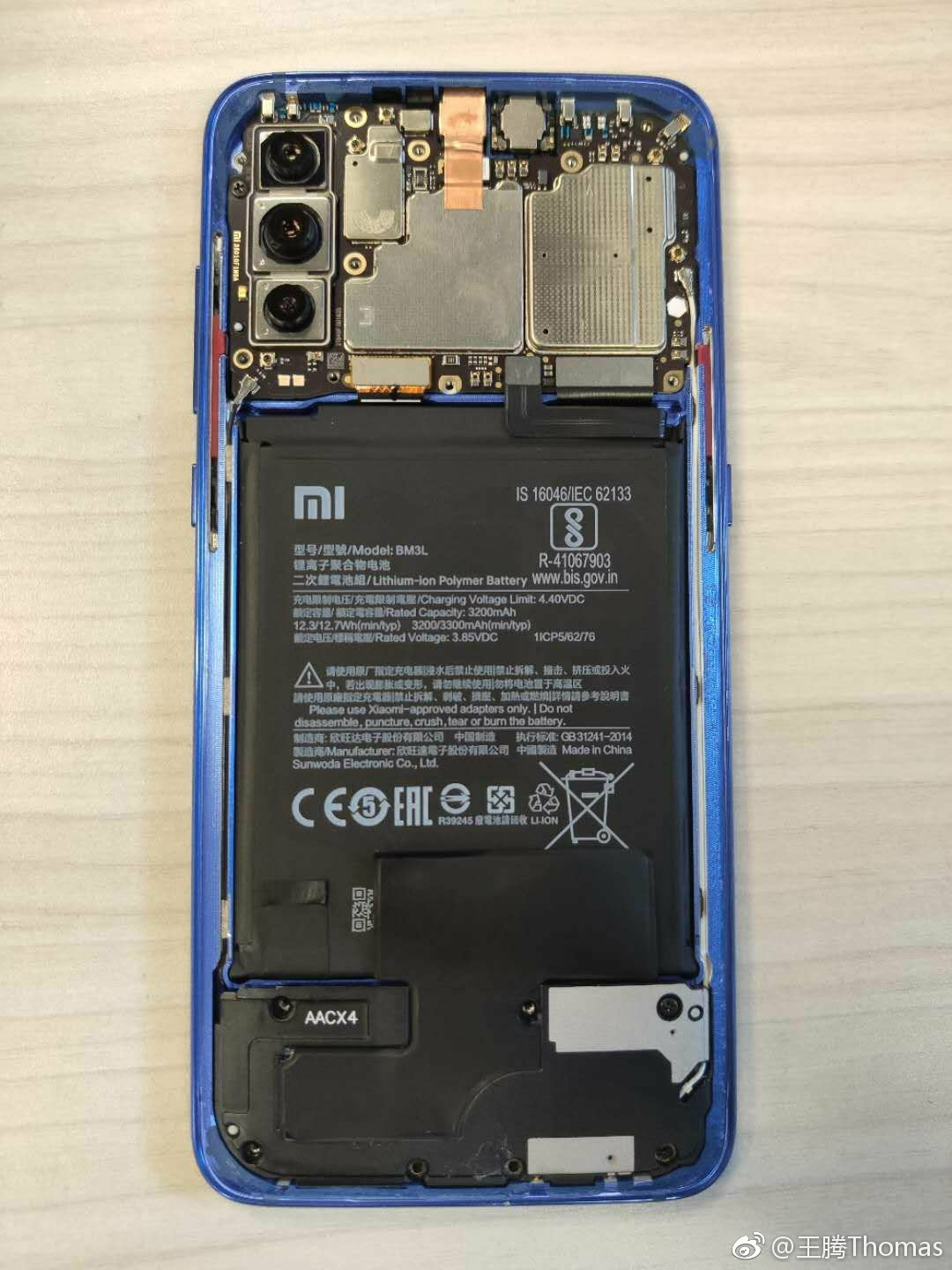 Disassembling Xiaomi Mi 9  2