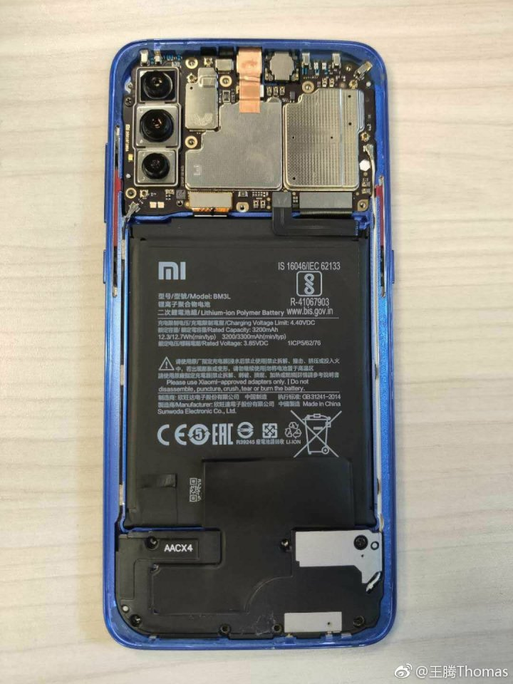 Disassembling Xiaomi Mi 9  1